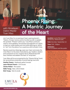 Phoenix Rising: A Mantric Journey of the Heart, with Himalayan Dakini Master Yuan Miao