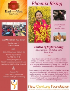 Tantra of Joyful Living Empowerment Workshop with Yuan Miao